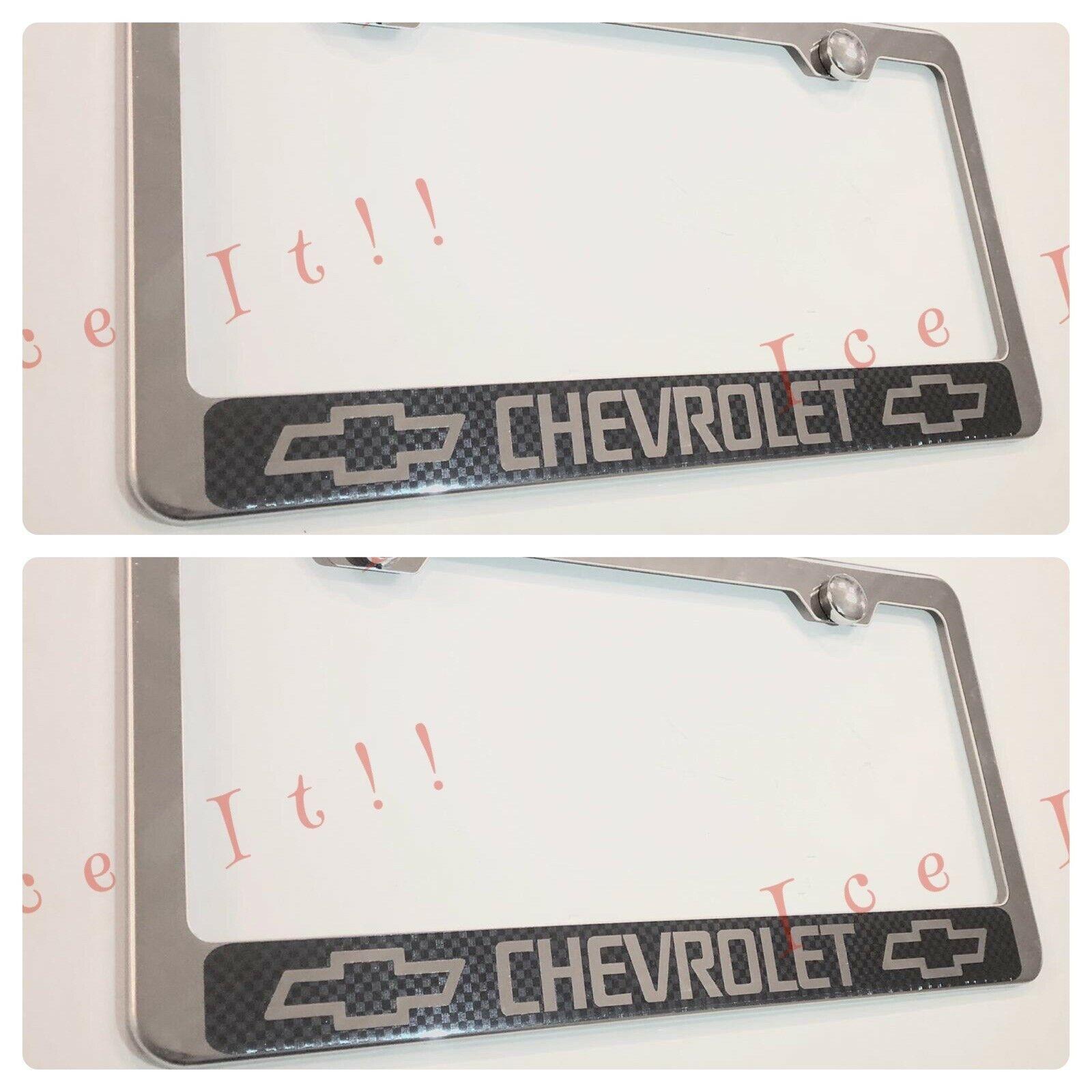 Mercedes Logo Blue 3D Emblem Stainless Steel License Plate Frame Rust Free