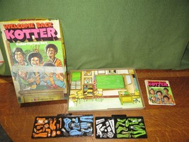 1976 Wolpar WELCOME BACK KOTTER Colorforms Set-No. 607 Unused IOB - $10.00