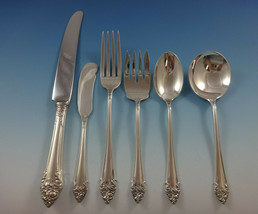 Fragrance by Reed & Barton Sterling Silver Flatware Service For 12 Set 74 Pieces - $3,995.00