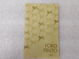 PINTO     1975 Owners Manual 15849 - $16.78
