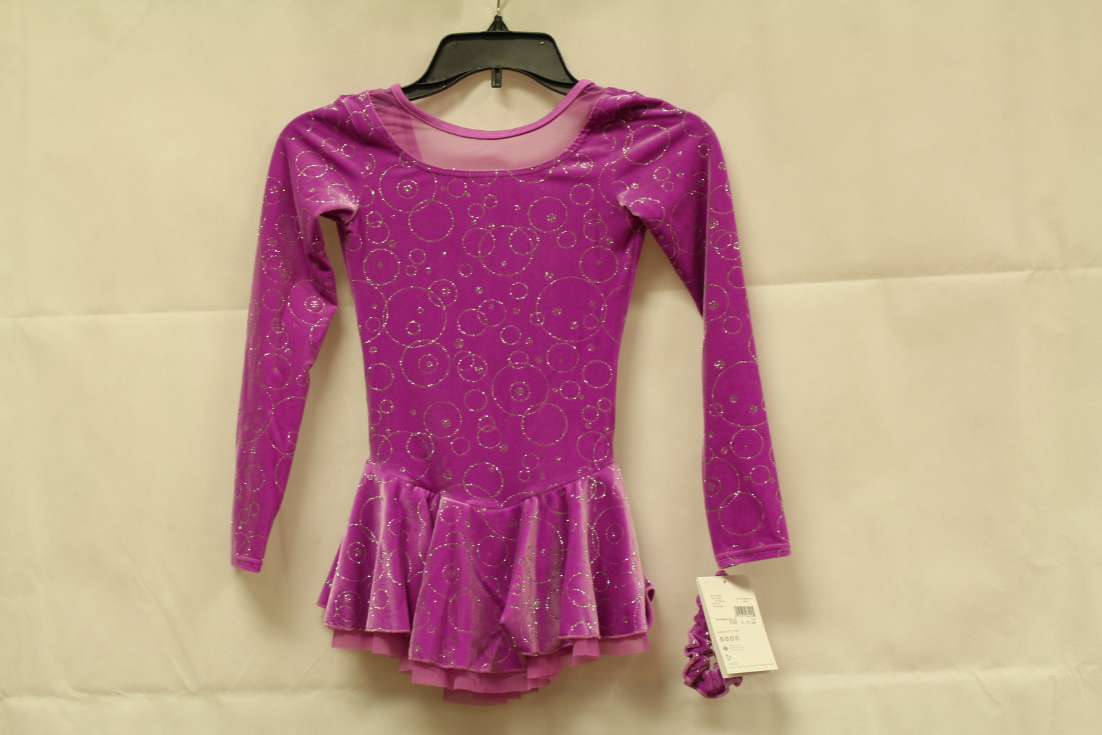 Primary image for Mondor Model 2762 Girls Skating Dress - Buubles Size Child 8-10