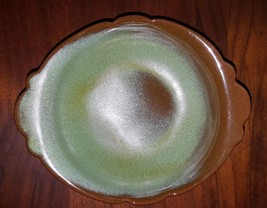 "Vintage Frankoma 40B Prairie Green Under Bowl 6-1/2"" - $16.25"