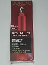 L'Oreal Paris Revitalift Triple Power Eye Treatment - 0.5 fl oz - $9.70