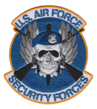USAF Security Forces Patch & 3'' Sticker  - $17.81