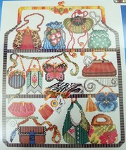 Janlynn Cross Stitch Kit Purse Collection 11 x 14 Embellished Beads New ... - $20.00