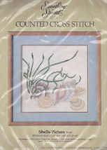 Counted Cross Stitch Kit Shells Picture 50149 by Something Special New Sealed - $12.00