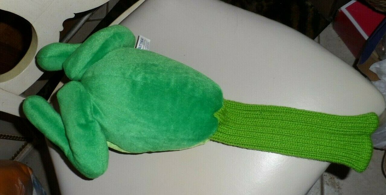 "Primary image for Butt head Golf Club Cover  Plush FROG butt with sock bottom 17"" NWT"