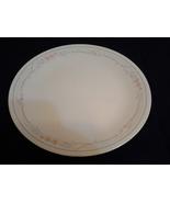 "Corning Corelle Rose Pattern 10.25""  Plate Peach/Gray  - $4.99"
