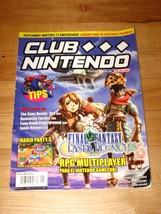 Club Nintendo Mexican Spanish magazine Final Fantasy Crystal Chronicles ... - $5.69