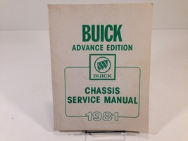 1981 Buick Factory Chassis Service Manual OEM Original Advance Edition - $14.99