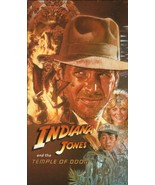 Indiana Jones And The Temple Of Doom~VHS Tape~1643~Excellent Condition - $19.99