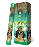 Xapana Health Protection Exotic Incense Flute Hexa Box 120 Handcrafted S... - $24.99