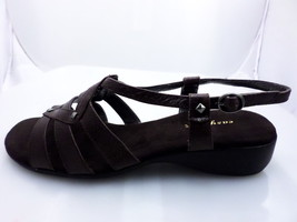 Easy Spirit Essyler Strappy Sandals Dark Brown For women Size 10 - $33.65