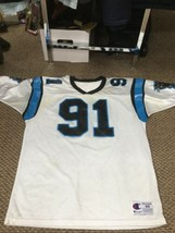 Carolina Panthers Kevin Greene White Champion Jersey Size 48 - $44.54