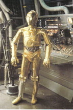 Star Wars C-3PO 4 x 6 Photo Postcard #2 NEW - $3.00