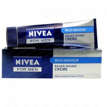 Nivea Men Shaving Creme Mild Cream 100 Ml Free Shipping - $11.28