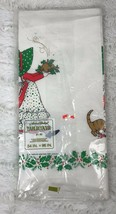 Vintage 1976 American Greetings Paper Tablecloth Christmas Holiday Holly Hobbie - $11.01