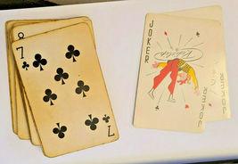 Vintage Retro Redislip Playing Cards Floral Centerpiece Van's Greenhouses  (003) image 3