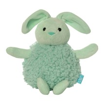 The Manhattan Toy Company Mini Puff Ball Rattle - Green Bunny - $9.95