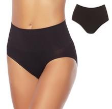 Yummie 2-Pack Seamless Shaping Panty, Black, 2X/3X (631392) - $29.69