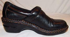 Leder Pantoletten Born Schuhe C 6 B 37 Clogs BOC Konzept schwarzes O 5 Damen qTH8wSY
