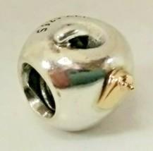 RETIRED Authentic Pandora Apple Worm Charm Bead - $41.90
