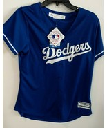 NWT Los Angeles Dodgers Cool Base Women's Majestic Fashion Jersey - Blue... - $62.60