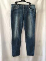 Joe's Jeans Rolled Skinny Crop  31 Whiskers Frayed Hem Women's Stretch J... - $53.31