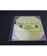 Family Tree Maker Archives Census Index: NC SC 1870 PC CD North & South ... - $19.59