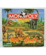 Monopoly Junior Dig'n Dinos 1998 USA Parker Bros. Complete - $21.99
