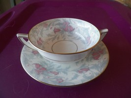 Minton  cream soup cup and saucer (Debutante) 6 available - $23.96