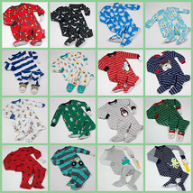 Carters Nwt Boys Footed Pajamas Fleece Or Cotton 9M 12M 18M 24M 2T 3T U Pick New - $15.57