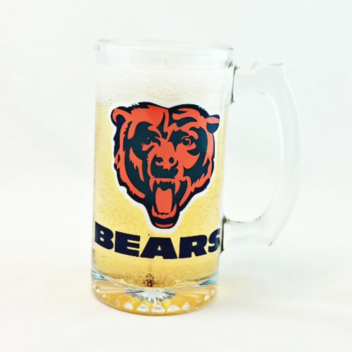 Primary image for Chicago Bears Beer Gel Candle