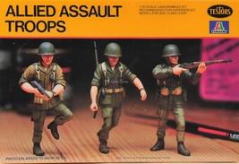 Testors/Italeri  Allied Assault Troops 1/35 Scale 847  - $8.75