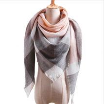 "Code ""A"" Women Blanket Oversized Tartan Scarf Shawl Plaid Cozy Checked P... - $12.37"
