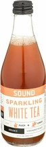 SOUND Sparkling Organic White Tea with Peach and Ginger 12 Ounce, 12 Count - $29.99