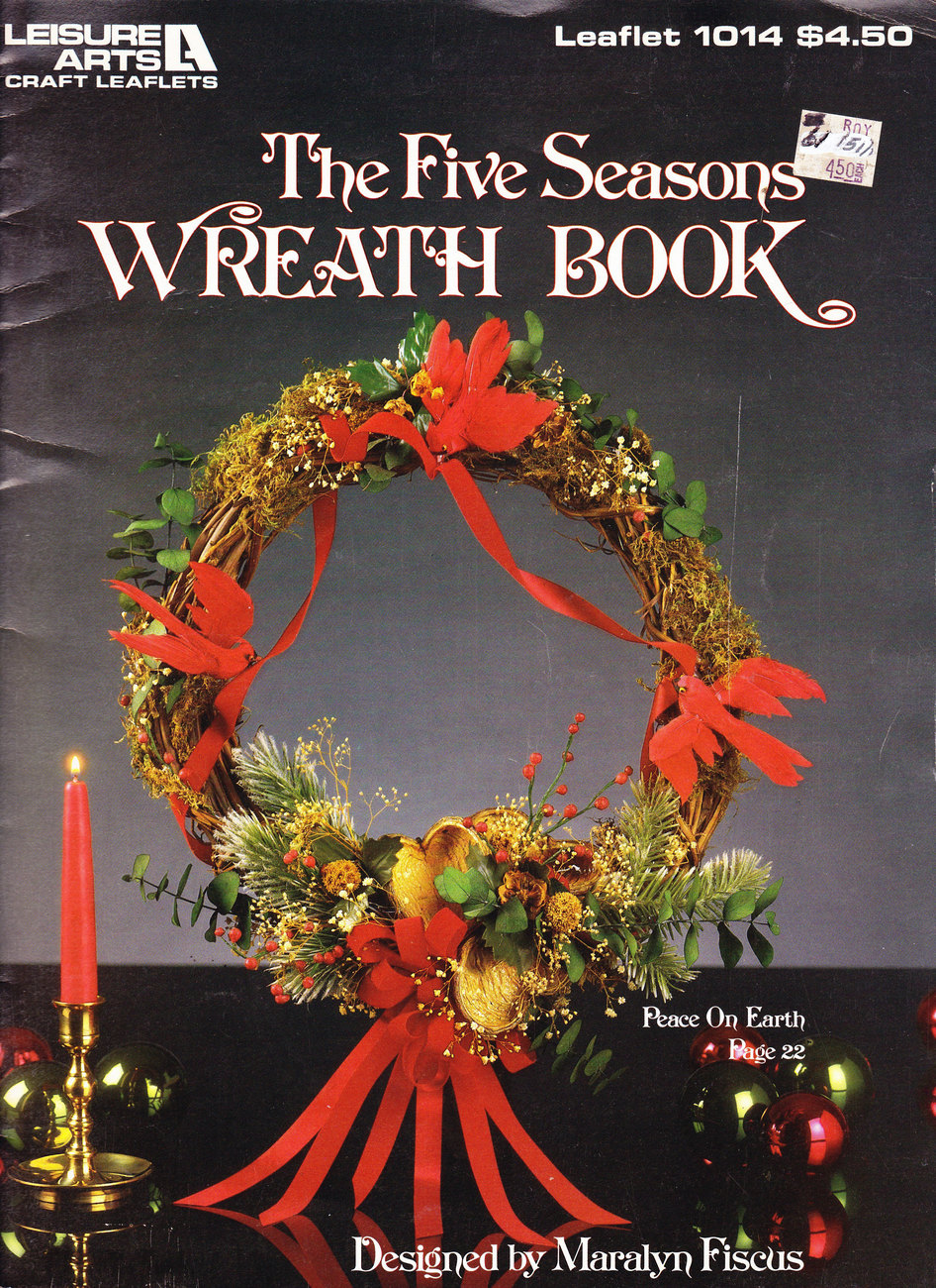 Primary image for FIVE SEASONS WREATH BOOK FLORAL ARRANGEMENTS
