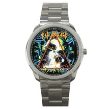 Def Leppard Hysteria Custom Sport Metal Men Watch  - $15.00