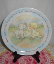 Precious Moments Giggles & Sighs Collector Plate - $8.00