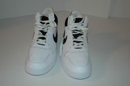 Nike court borough mid sneaker white black  838938 100 Mens 10.5 - $90.00