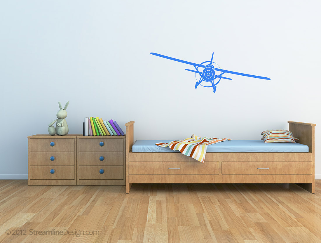Giant Airplanes Vinyl Wall Art, 4 Styles To Choose From