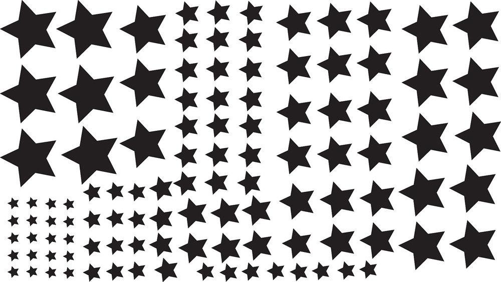 Twinkle Twinkle Little 108 Stars Wall Art