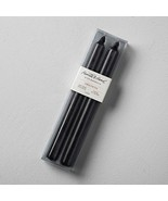 Hearth & Hand Black Unscented Taper Candle - $9.78
