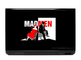 Mad Men Laptop Art - $6.95