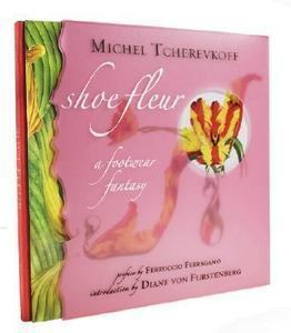 Shoe Fleur:A Footwear Fantasy-8 Printed Vellum Pages-BOTANICAL SHOES;NEW MIP HC