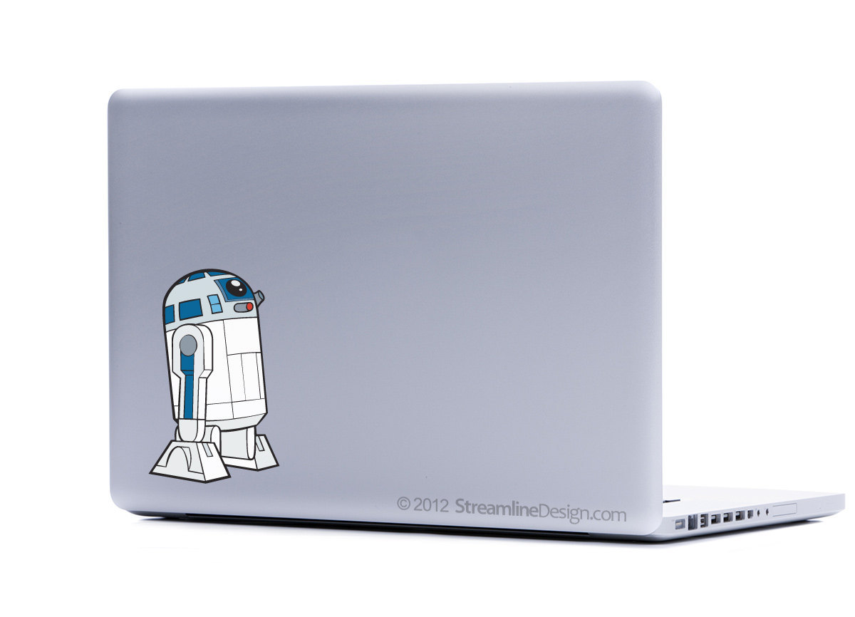 Star Wars R2-D2 Vinyl Laptop Art