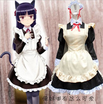 Ore No Imouto Gokou Ruri Kuro Neko Black Cat Maid Dress Cosplay Costume ... - $27.99
