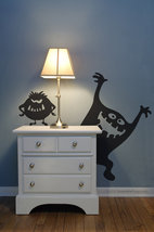 Don't be afraid of the dark. Curly and Moe will keep you company. - $22.95