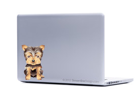 Yorkie Pomeranian Pug Your Choice Small Dog Collection Three Laptop Art - $5.95