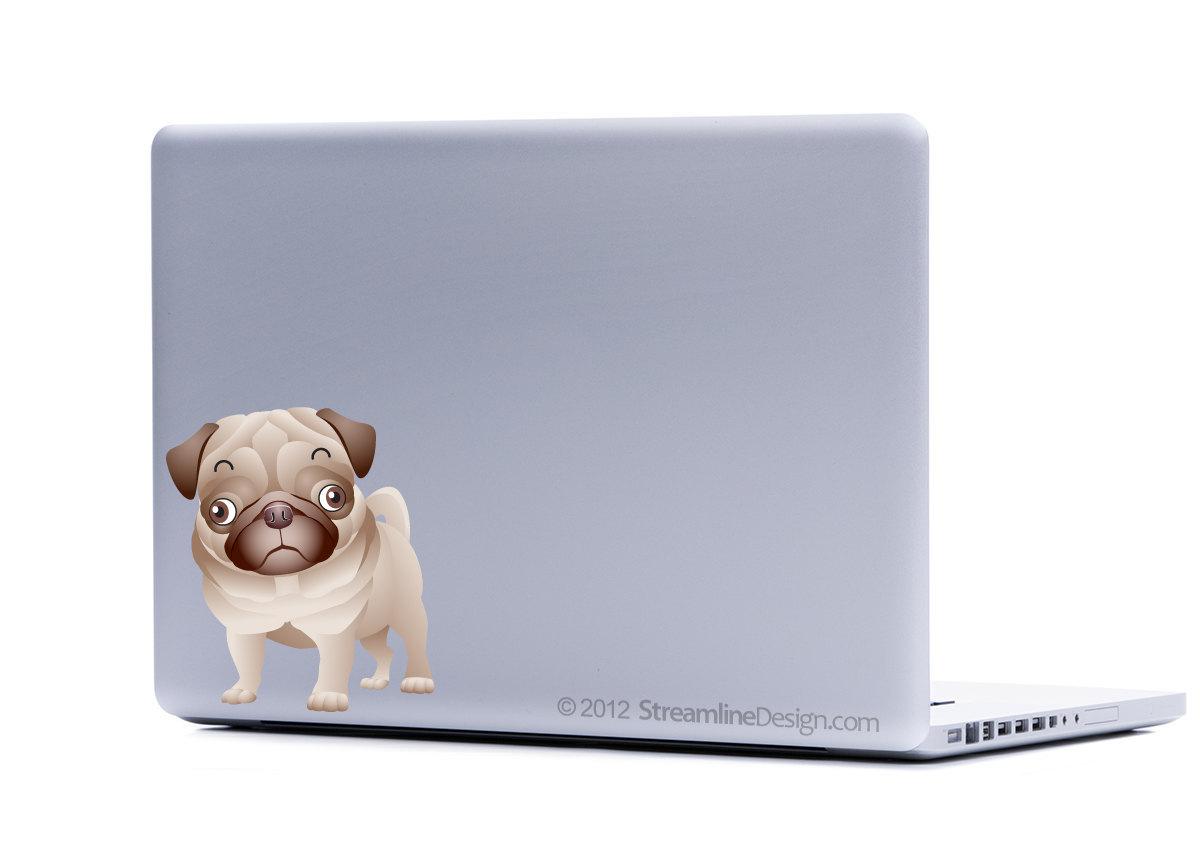 Yorkie Pomeranian Pug Your Choice Small Dog Collection Three Laptop Art
